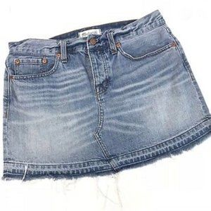 Madewell Distressed Jean Skirt - Size 28